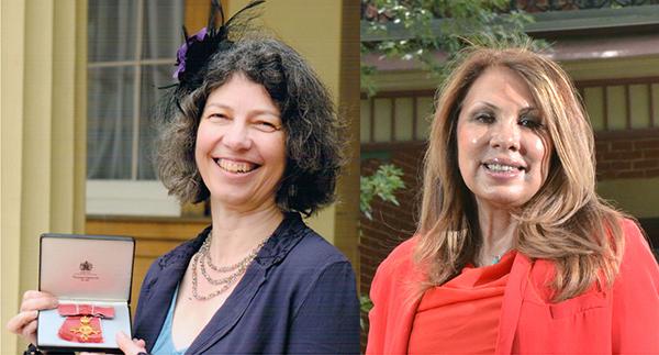Sonia Livingstone, left, and Kris Gutiérrez